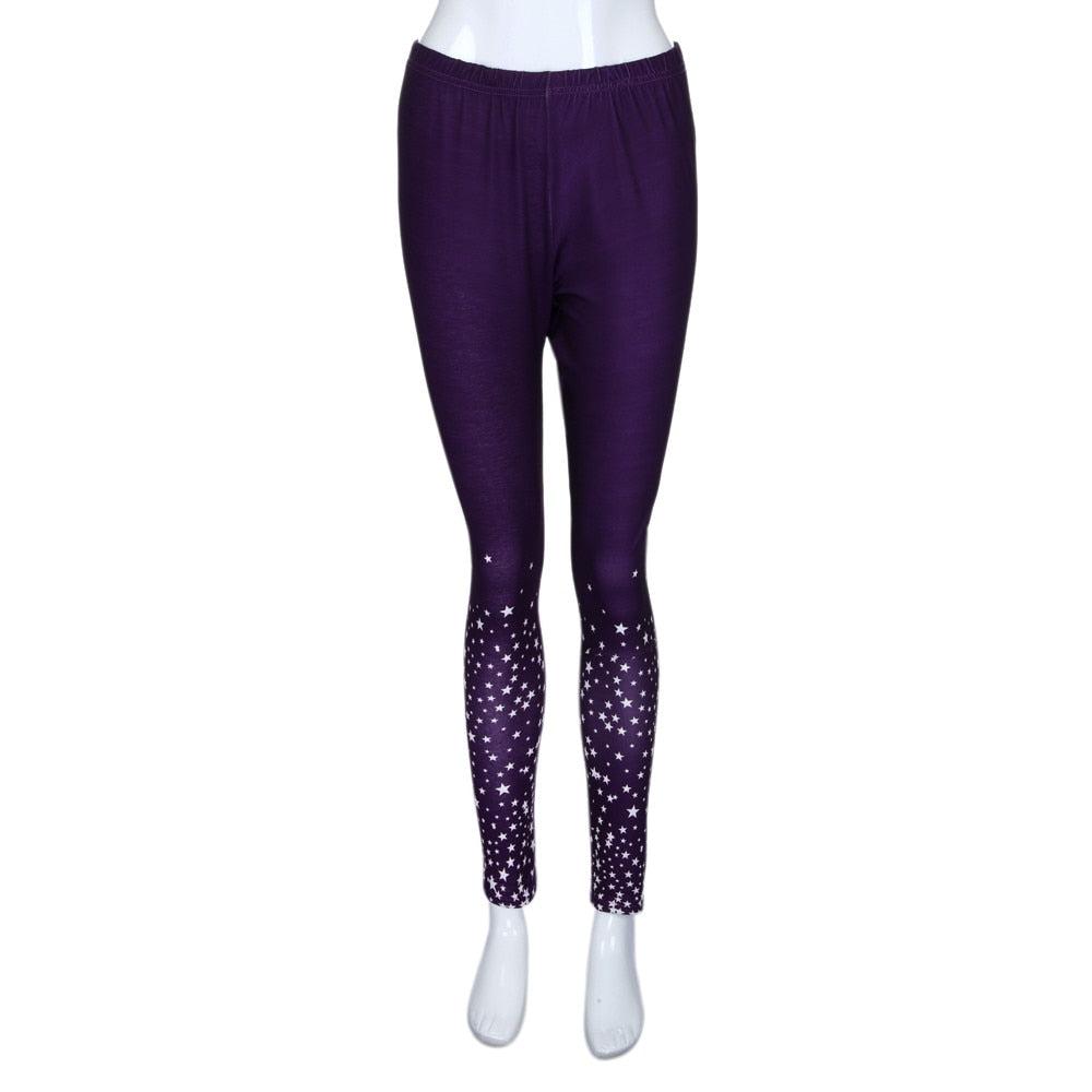 Briggington Stars Print Leggings