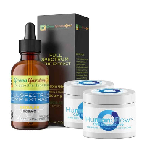 Image of CBD Oil & Salve Bundle