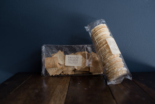 CRISP BREAD CRACKERS 100gr
