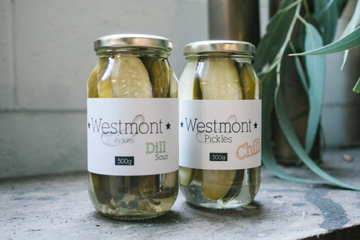 CUCUMBER PICKLES (500G)