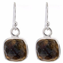 Arvino 925 Sterling Silver Dangle Earring With Two Gemstone Options-Arvino Online