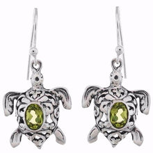 Arvino 925 Sterling Silver Handmade Earring With Peridot Gemstone-Arvino Online