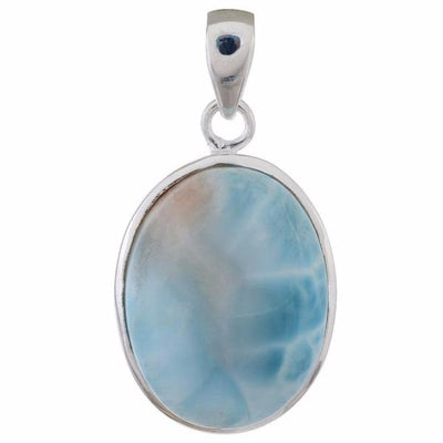 Arvino 925 Sterling Silver Pendant With Larimar Gemstone-Arvino Online