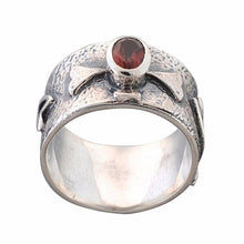 Arvino 925 Sterling Silver Ring With Rainbow Moon Stone-Arvino Online