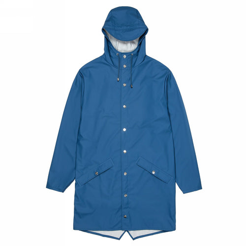 ПЛАЩ RAINS LONG JACKET BLUE