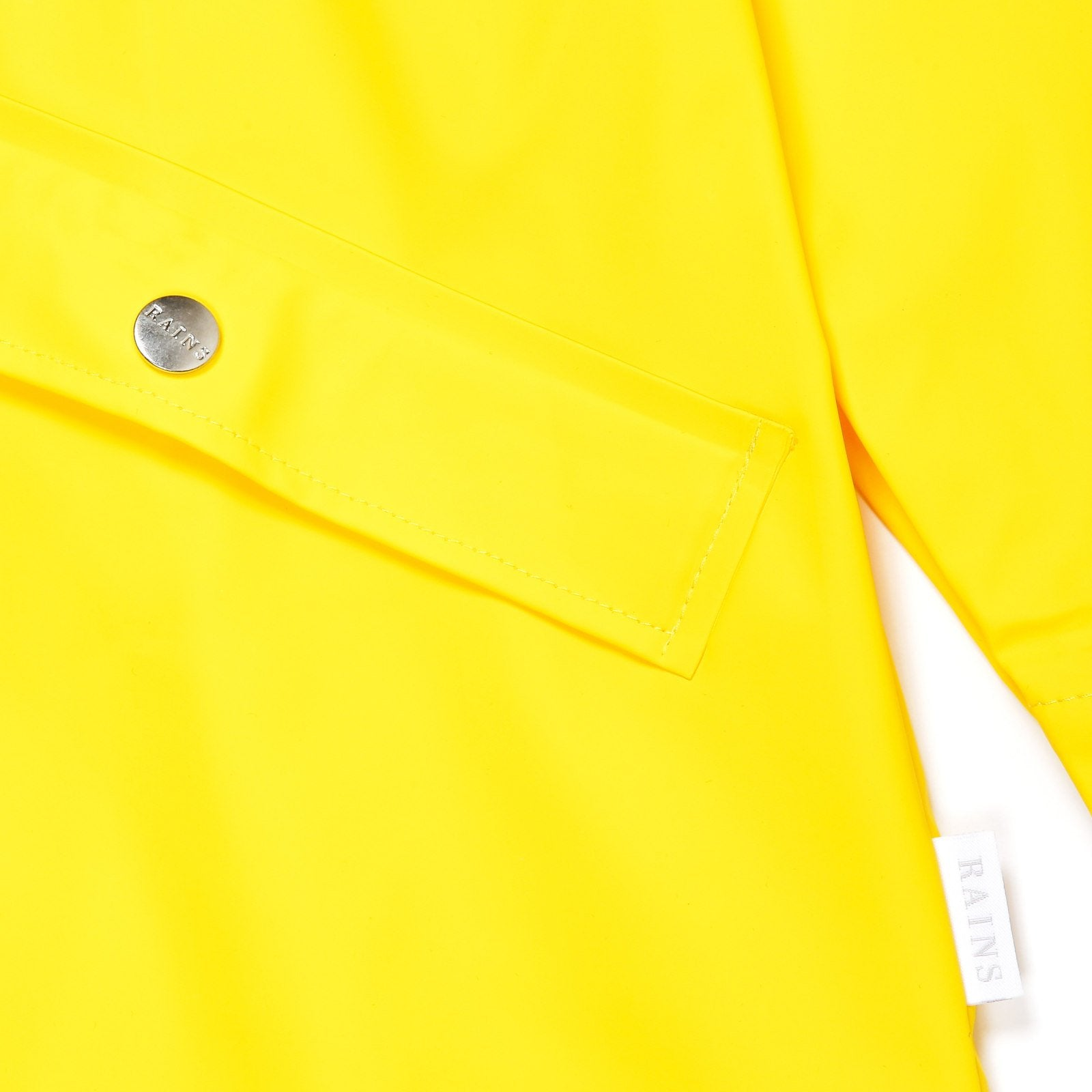ПЛАЩ RAINS LONG JACKET YELLOW