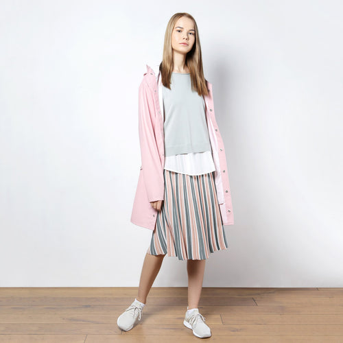 ПЛАЩ RAINS LONG JACKET PINK