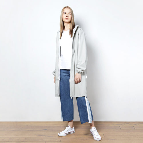 ПЛАЩ RAINS BASE JACKET LONG GREY