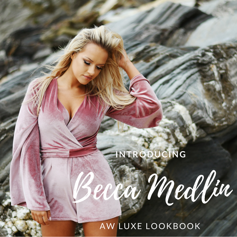 Introducing Becca Medlin AW Luxe LookBook