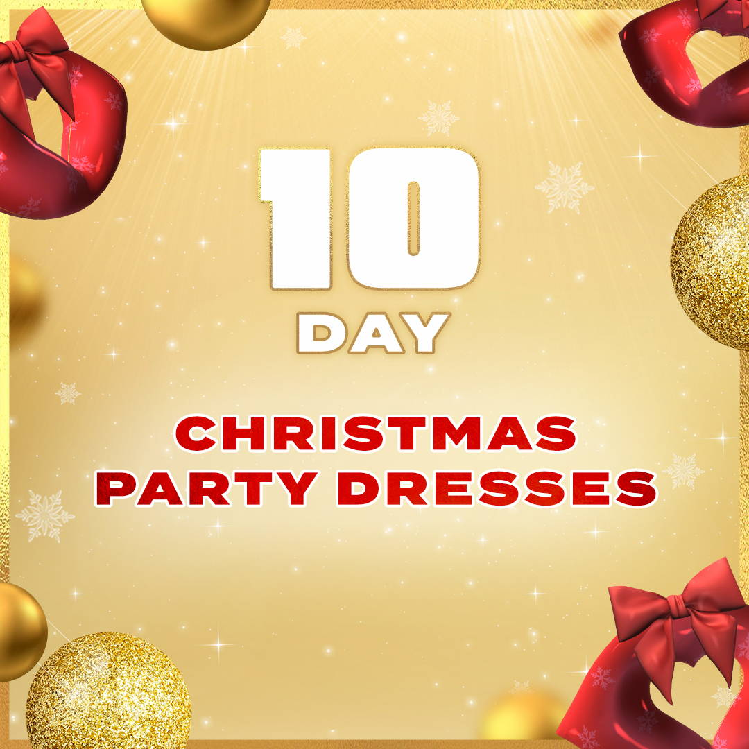 Day 10: Christmas Party Dresses