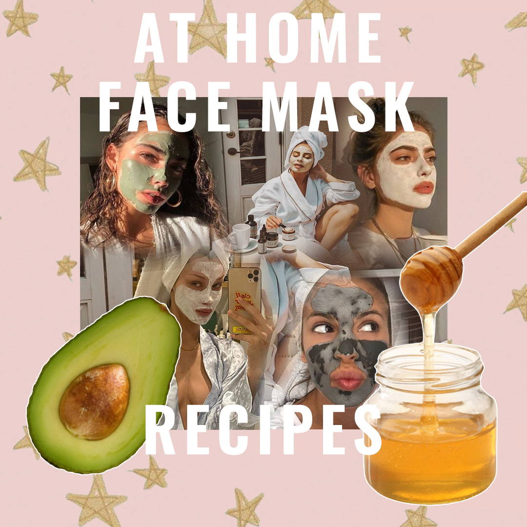 At Home Face Mask Recipes