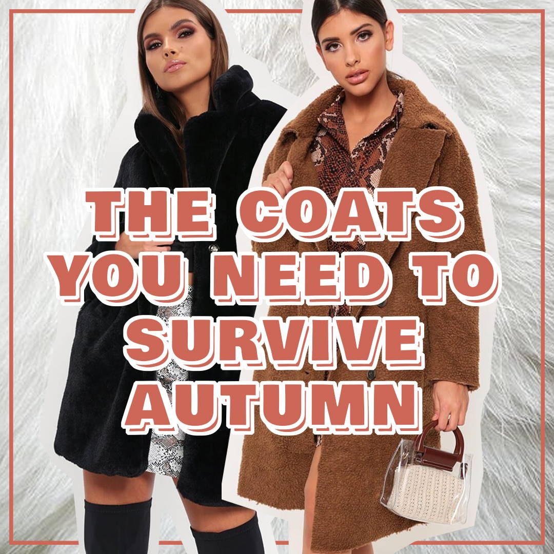 3 Coats You Need to Survive Autumn
