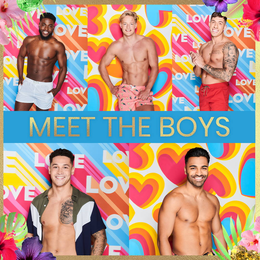 Meet The Love Island Boys