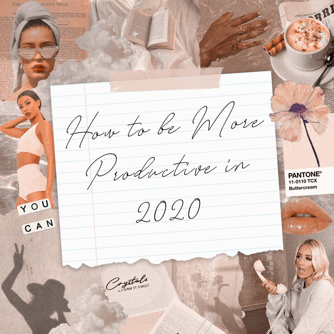 How To Be More Productive in 2020