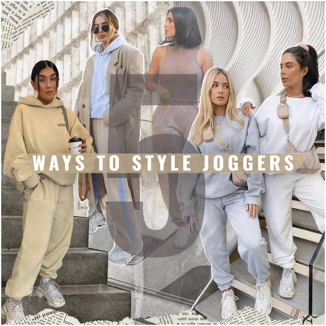 5 Ways to Style Your Joggers