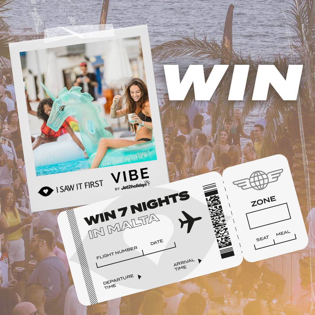 Win 7 Nights In Malta With VIBE by Jet2Holidays