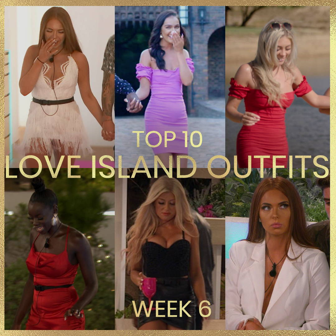Top 10  Love Island Outfits: Week 6