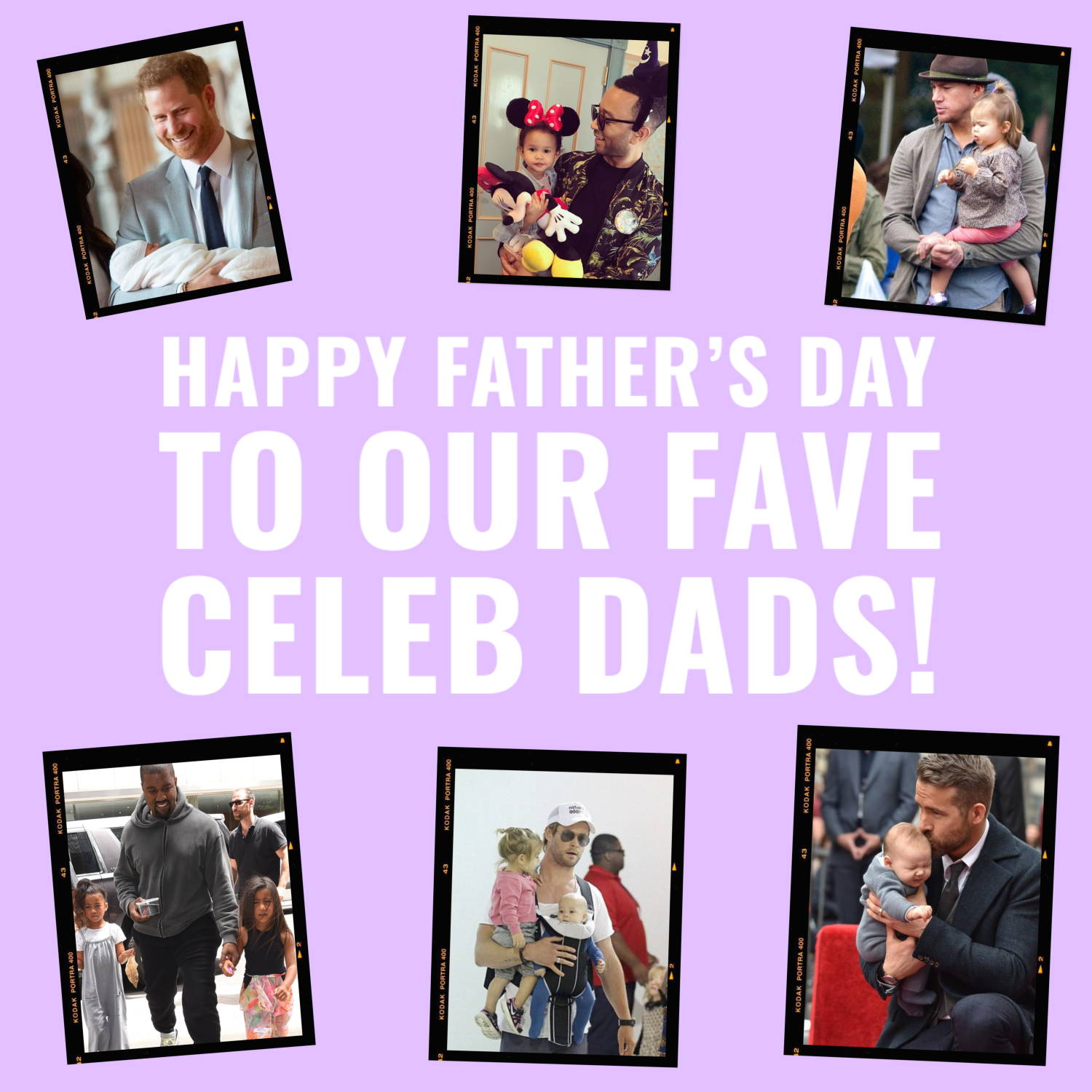 Happy Father's Day to Our Fave Celeb Dads