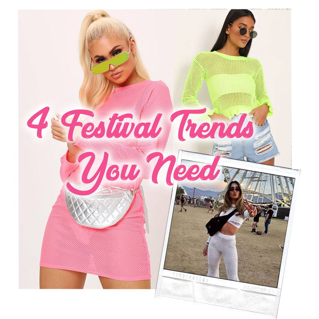 4 Festival Trends you need in your Wardrobe
