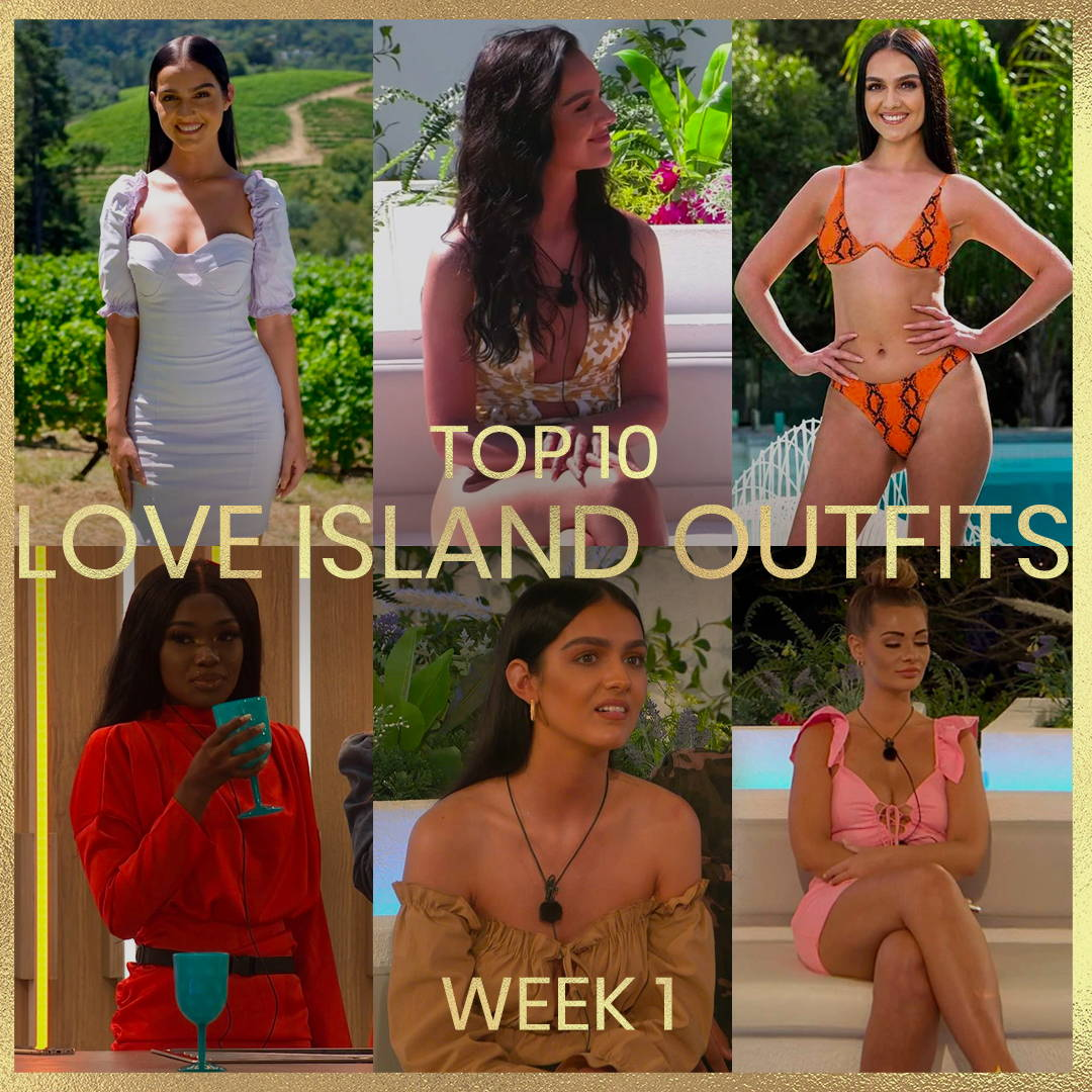 Top 10 Love Island Outfits - Week 1