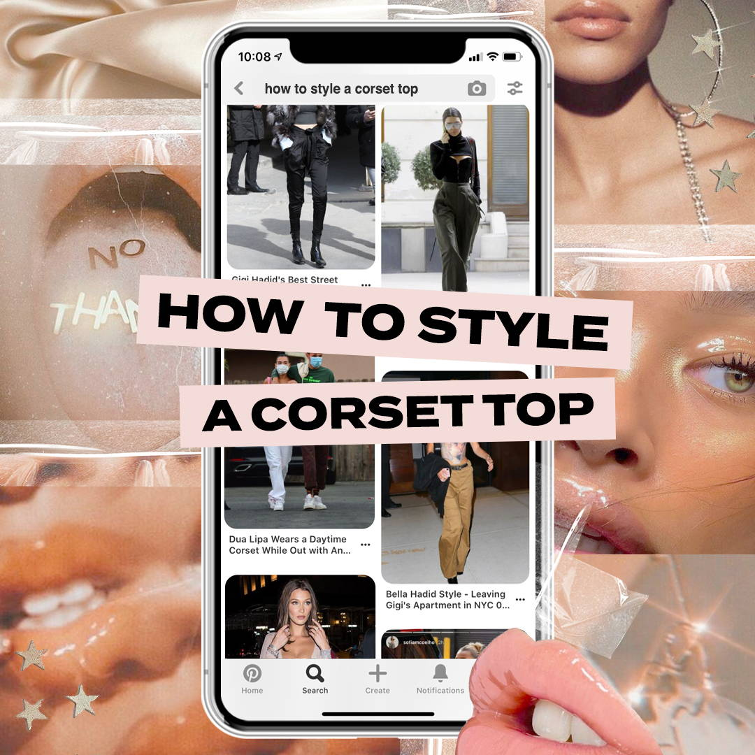How to Style a Corset Top
