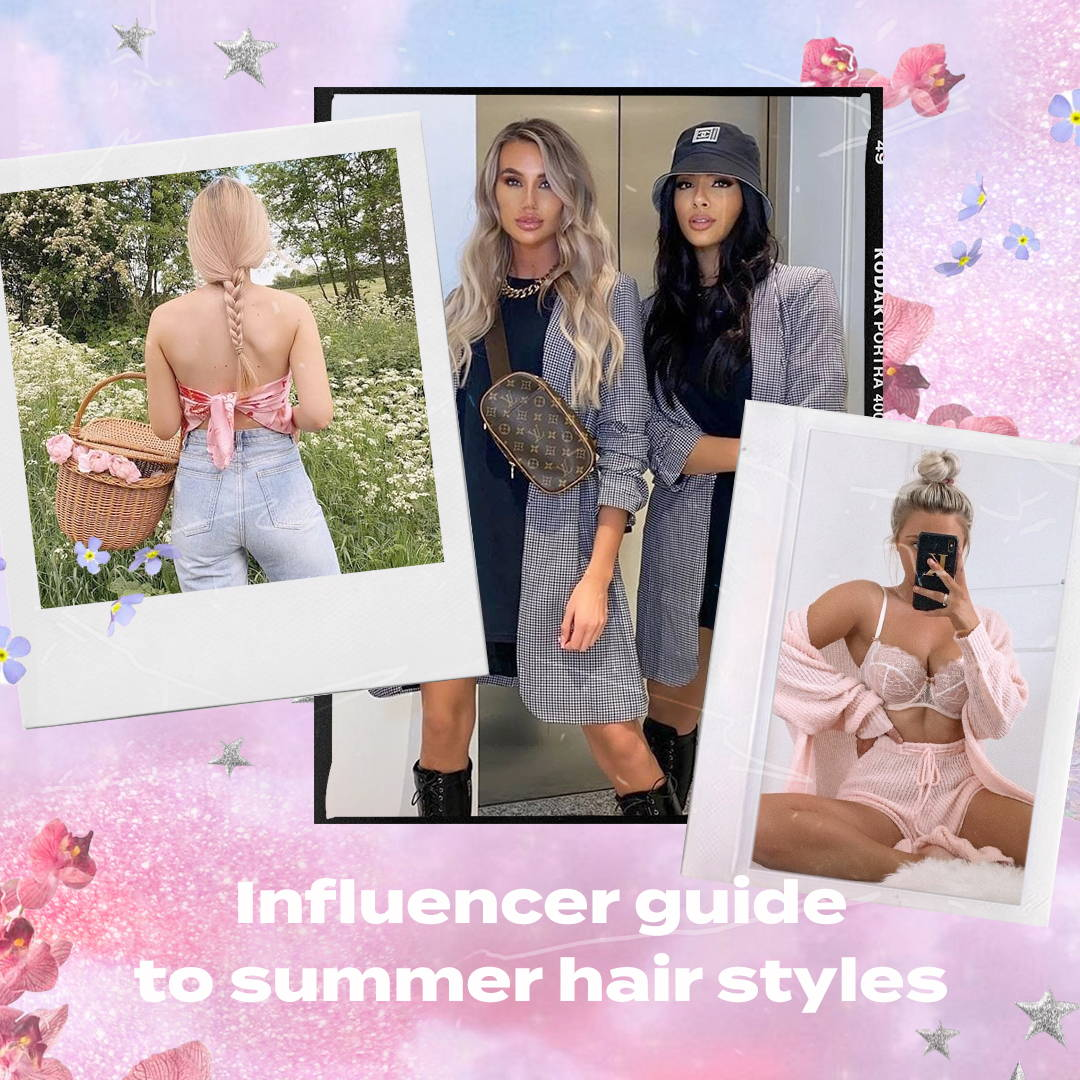 The influencer guide to summer hairstyles