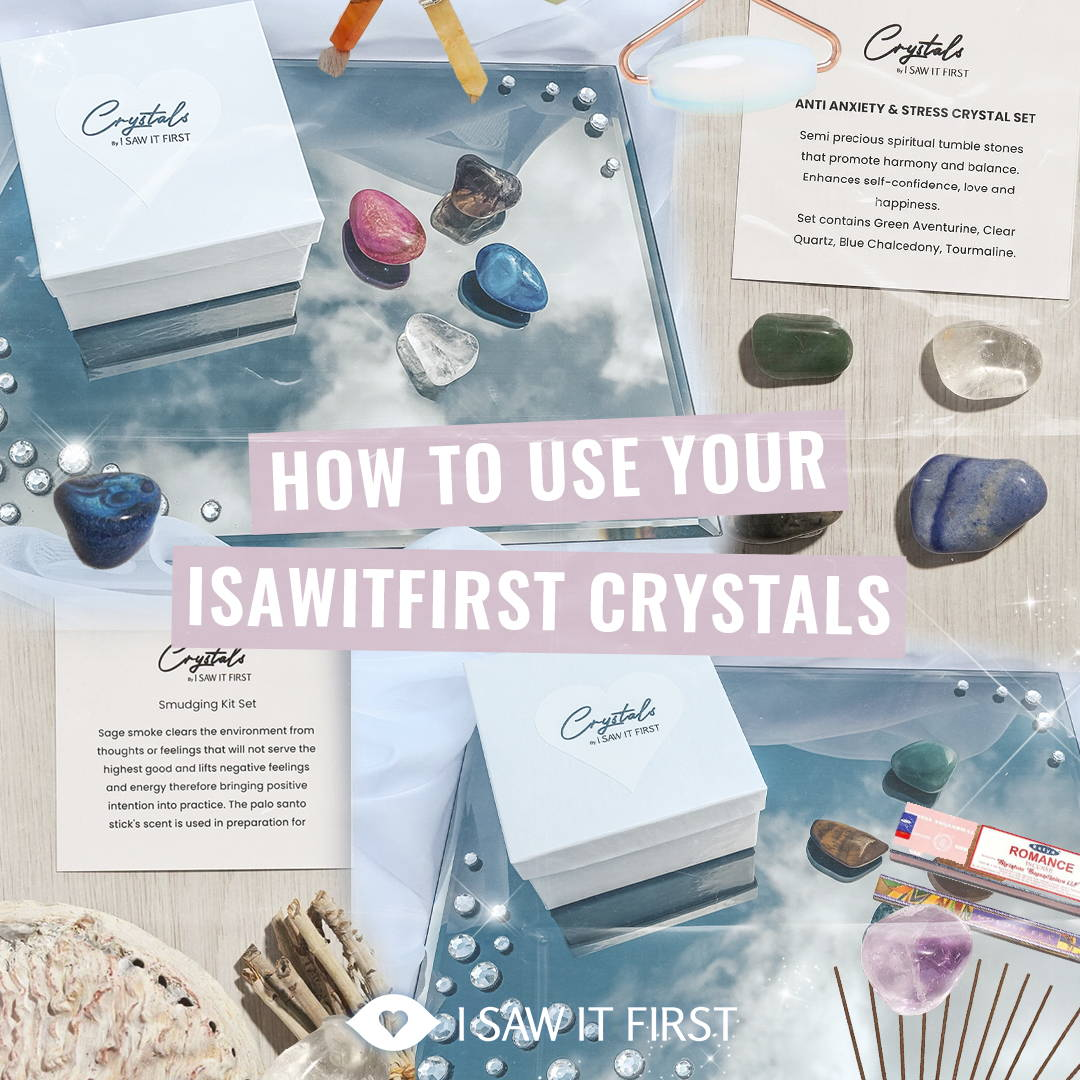 How to use your ISAW crystals