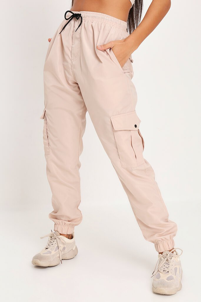 Sand Side Pocket Cargo Trousers view 2