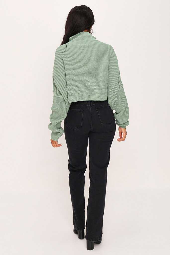 Sage Slouchy Jumper view 5