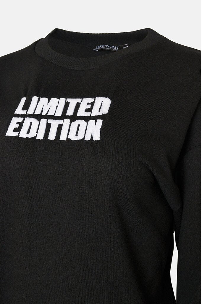 Black Limited Edition Oversized Sweatshirt view 3
