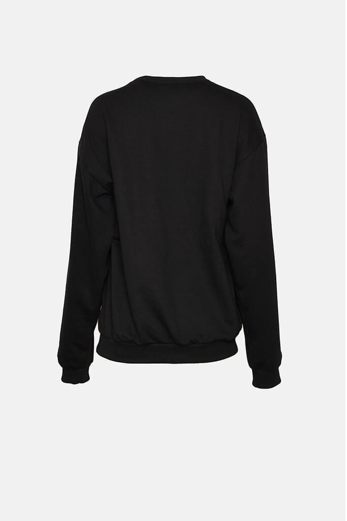 Black Limited Edition Oversized Sweatshirt view 4