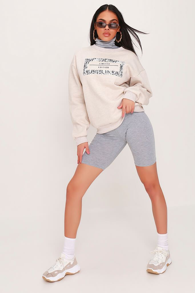 Cream Limited Edition Grey Snake Sweatshirt view 2