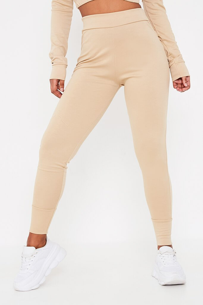 Stone Long Sleeve V-Neck Loungewear Set view 4