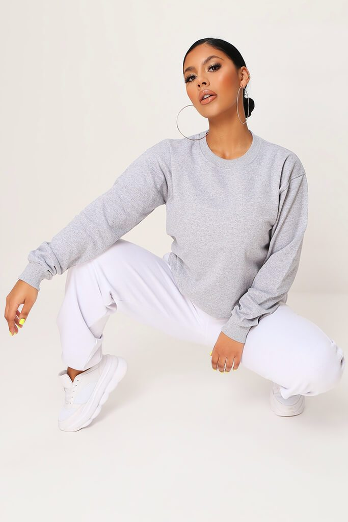 Grey Basic Sweat