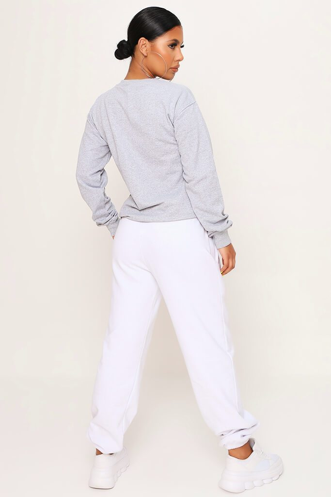 Grey Basic Sweat view 5