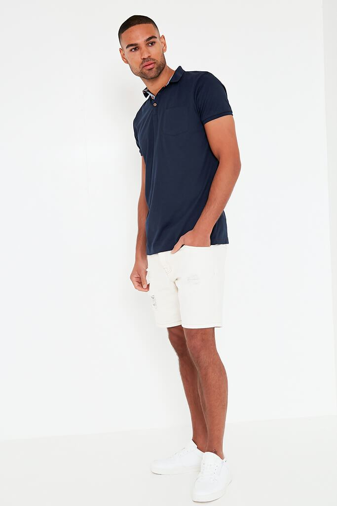 Navy Mens Short Sleeve T-Shirt view 2