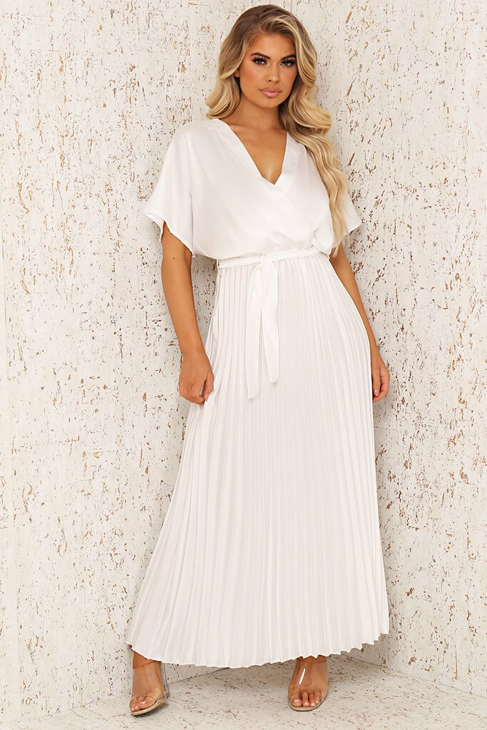 Hull Silk Pleated Maxi Dress - The Deal - Official Online