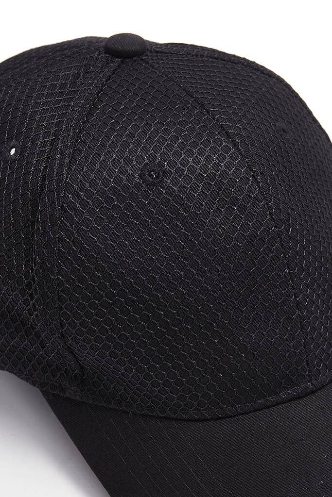 Black Mens Cap view 5