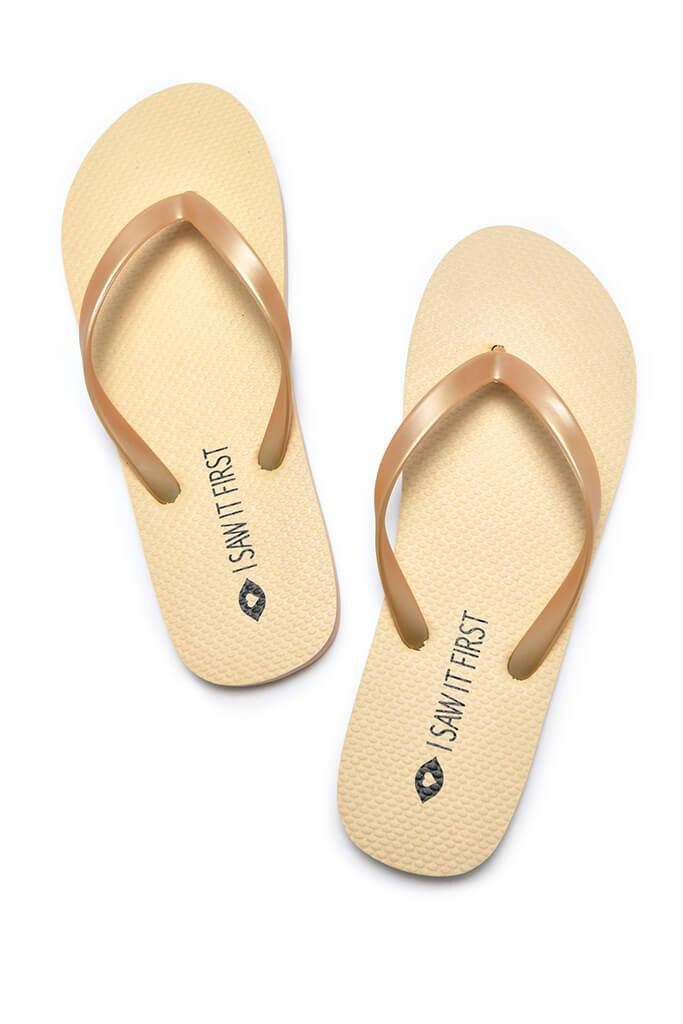 Multi 2 Pack Basic 'I Saw It First' Flip Flops view 3