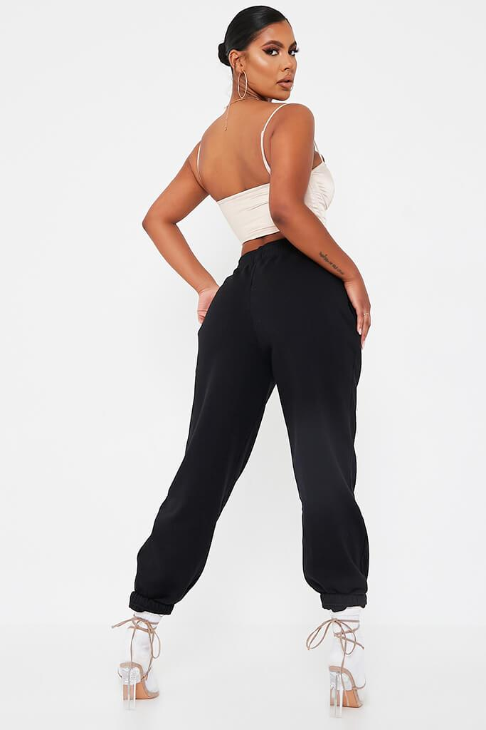 Black Honey Bunny Oversize Jogger view 5