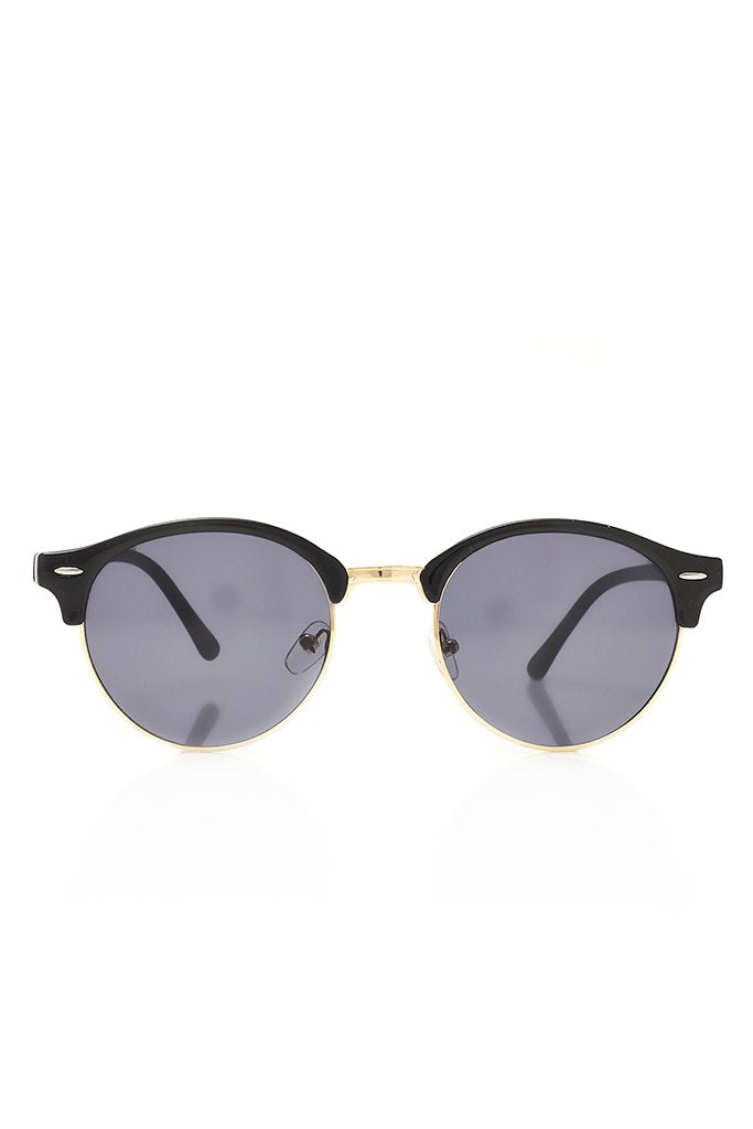 Black Metal Frame Sunglasses view 4