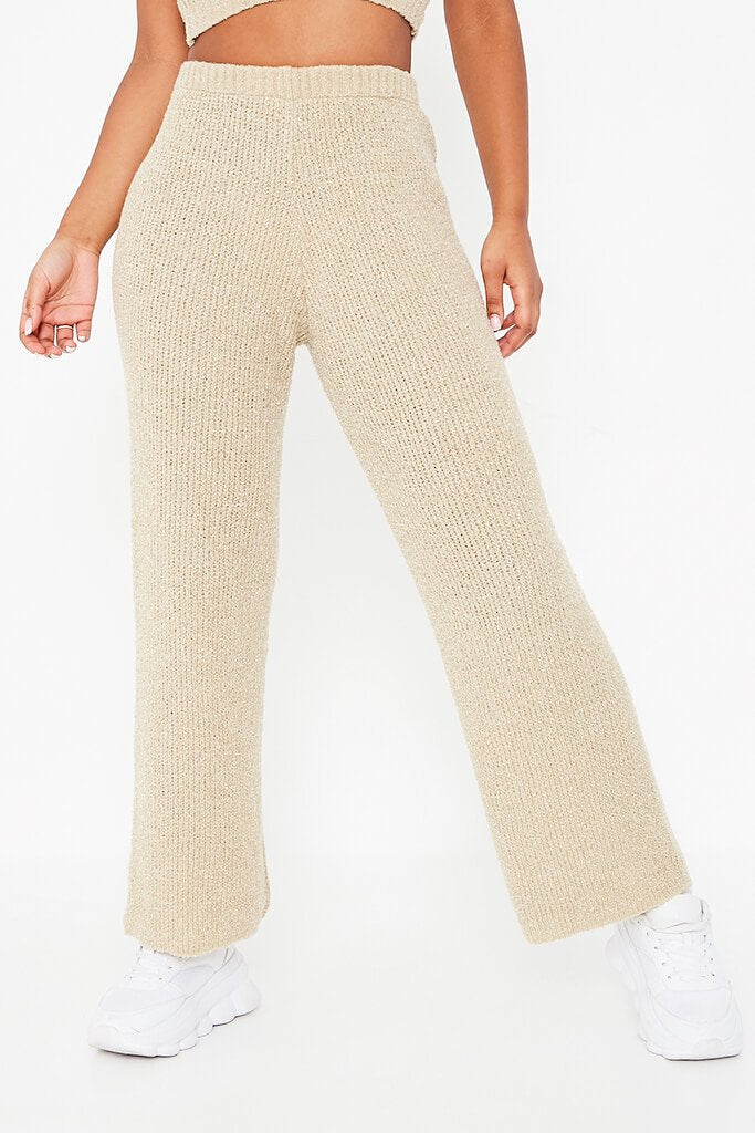 Stone Cosy Knitted Trouser view 2