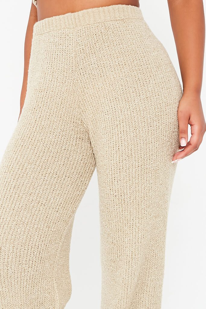 Stone Cosy Knitted Trouser view 4