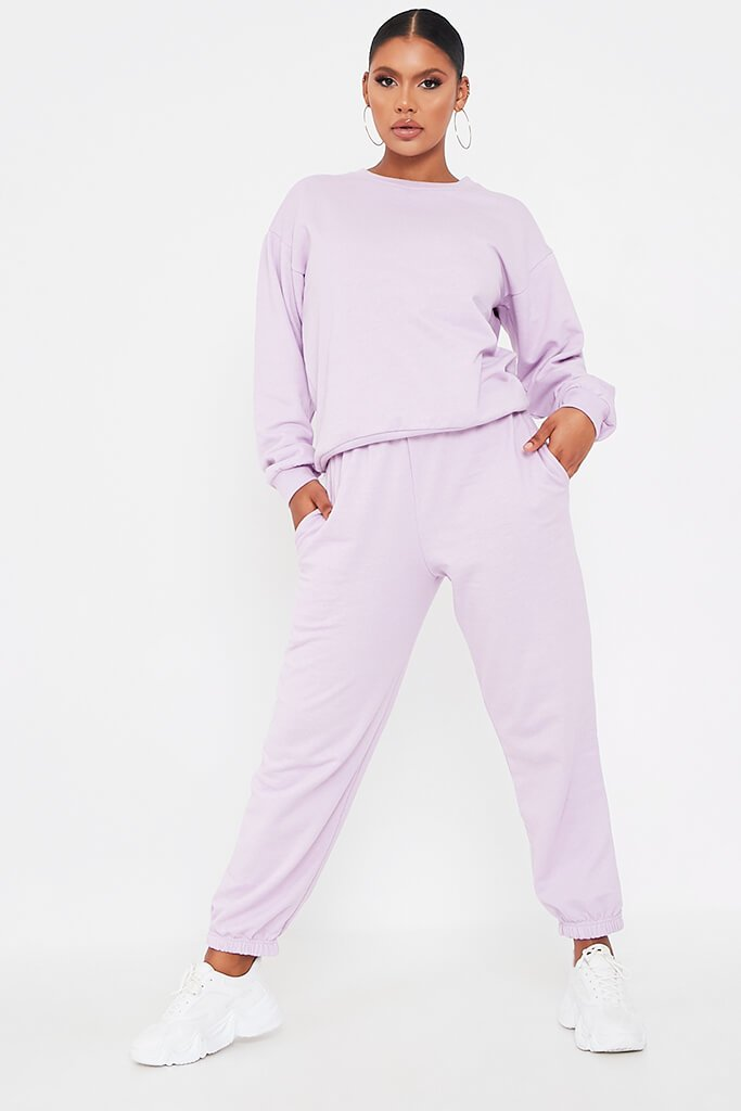 Lilac Basic Sweatshirt view 2