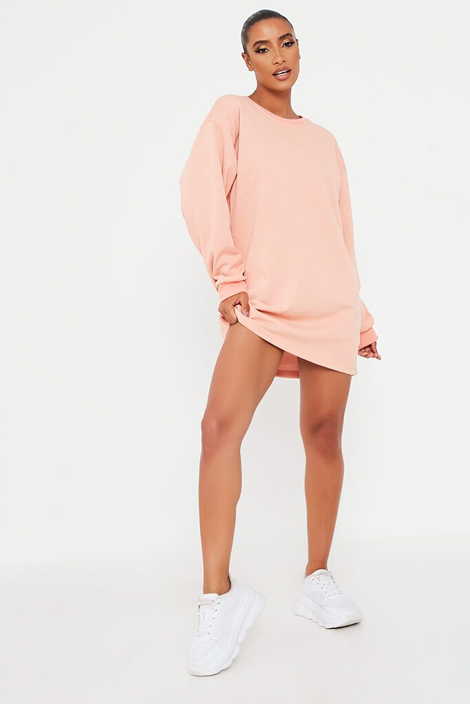 Coral Sweater Dress view 2