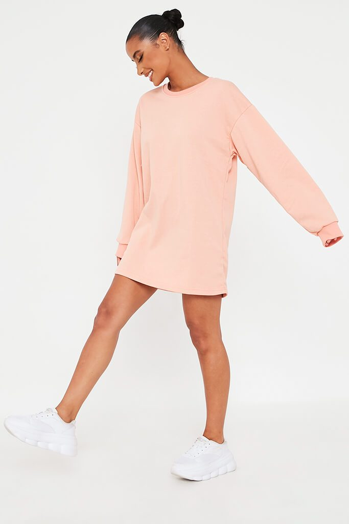 Coral Sweater Dress view 3