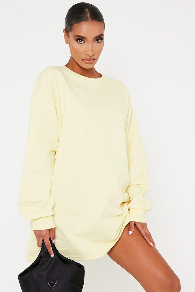 Lemon Sweater Dress view main view