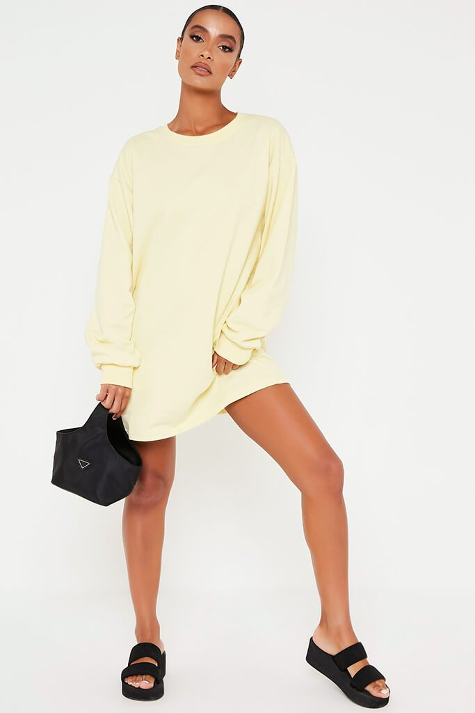 Lemon Sweater Dress view 2