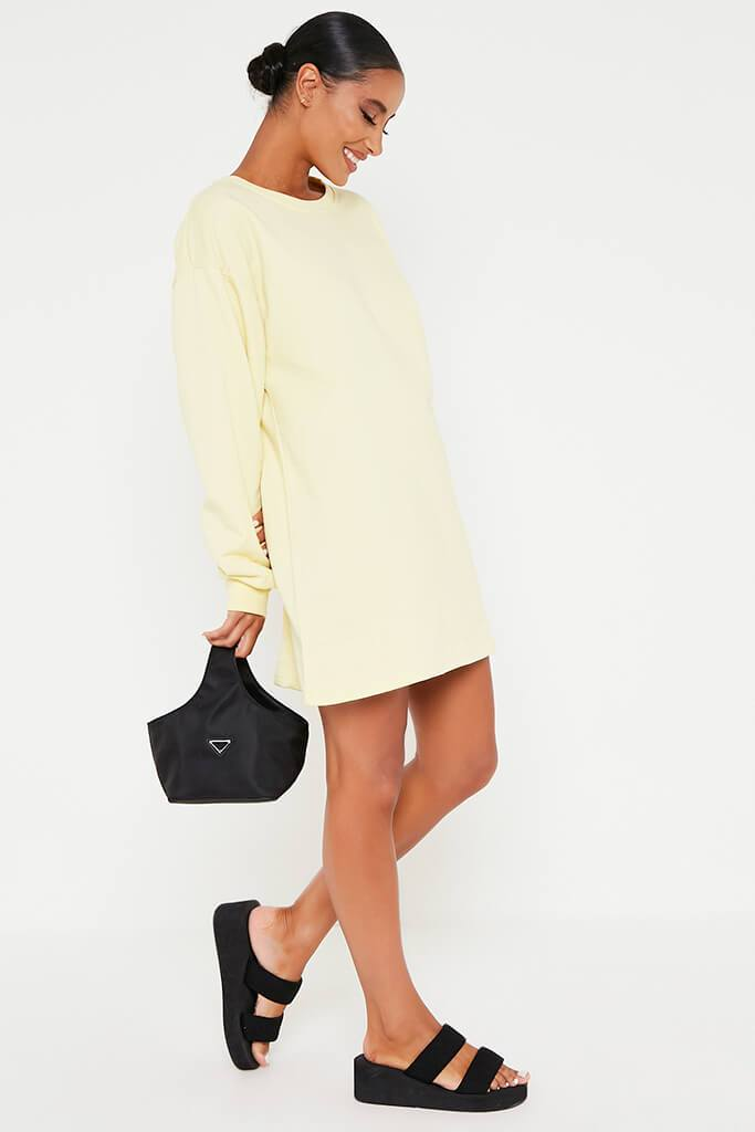 Lemon Sweater Dress view 3