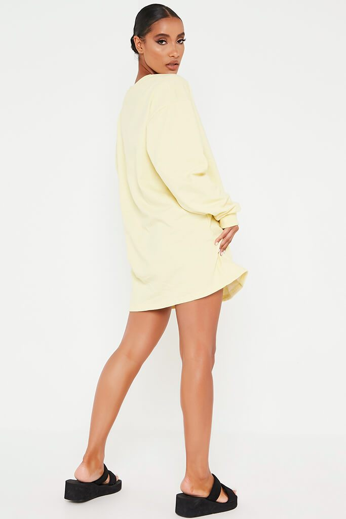 Lemon Sweater Dress view 5